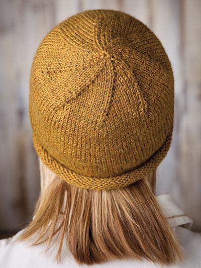 f7b33f28568 Hats   Gloves Knit Patterns - Basic Rolled-Brim Beanie Knit Pattern