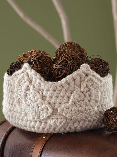Crochet basket patterns are great for home decor and storage