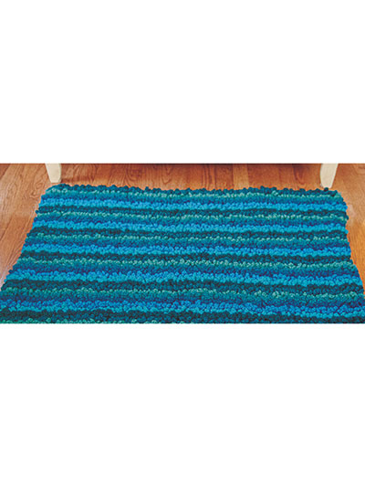 Crochet a rug pattern it's easier than you think