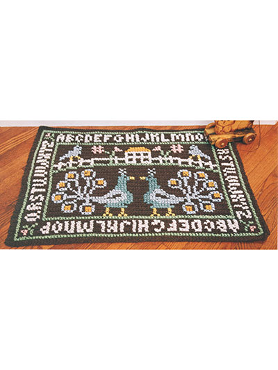 Rugs to crochet patterns for rugs