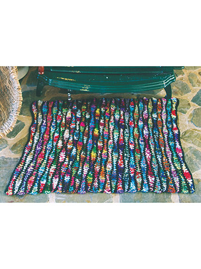 Colorful rugs crochet patterns