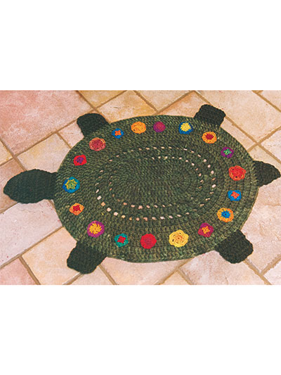 Turtle Rug crochet pattern