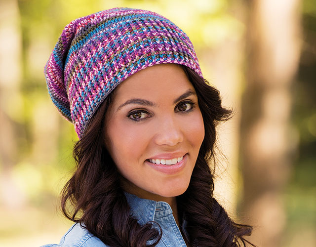 Learn how to crochet basic hats for women