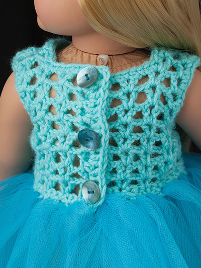 Crochet Doll Clothes Shoes Special Occasion Fashions For 18 Inch