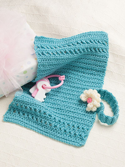 Easy to crochet baby blankets and gift patterns