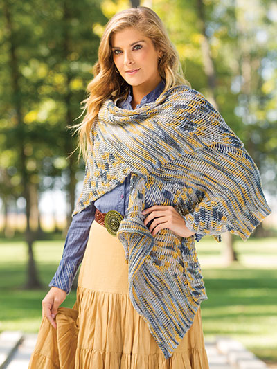 Crochet! Spring 2016 crochet shawl pattern for spring and summer
