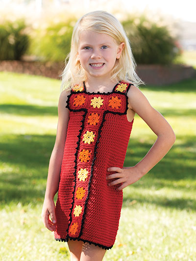 Crochet! Spring 2016 crochet pattern for girls dress