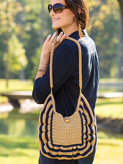 Crochet! Spring 2016 crochet bag pattern for spring and summer
