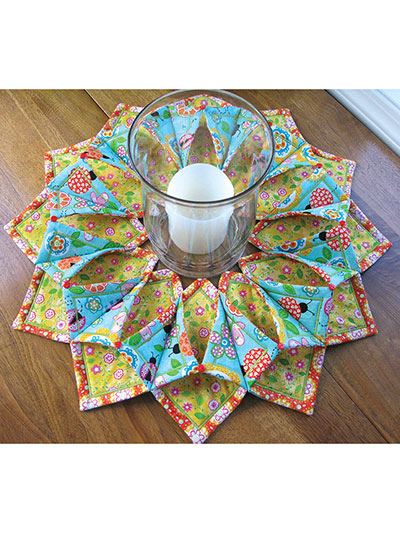 Fold'n Stitch Wreath Pattern Impressive Fold And Stitch Wreath Pattern