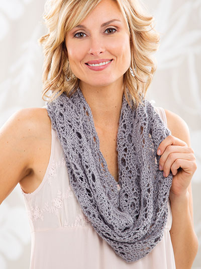 Crochet a summer scarf to accent your wardrobe