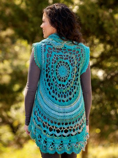 02b145f757ff2 ANNIE S SIGNATURE DESIGNS  Oceano Circle Vest Crochet Pattern