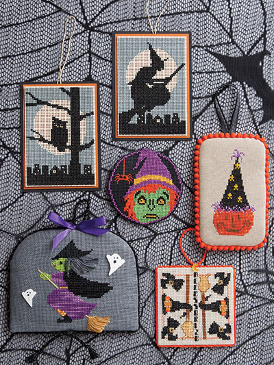 Witches and more to Cross stitch for Halloween