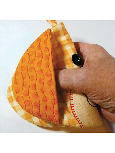 Hot Dogs Hot Pad Sewing Pattern
