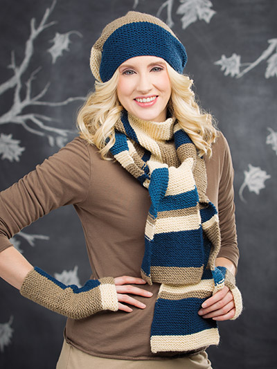 Hat and scarf to knit for autumn knitting patterns download