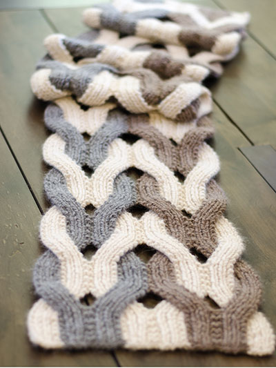 New Knitting Patterns Japanese Weave Wrap Knit Pattern