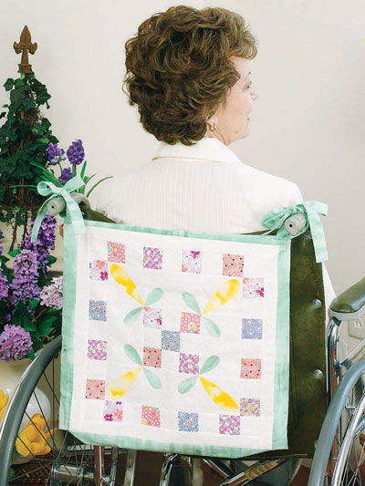 Wheelchair quilt patterns