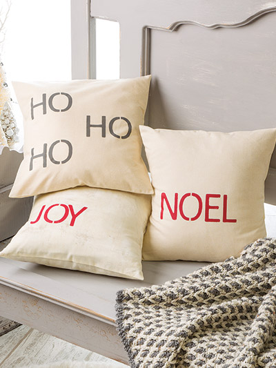 Pillows and other sewing projects for the holidays