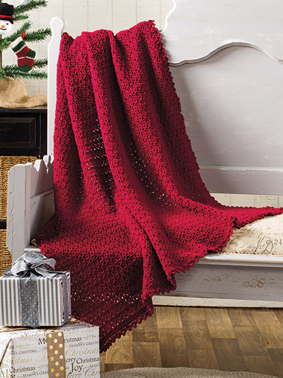 Beautiful afghans to crochet and knit for the holidays