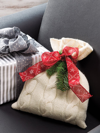 How to make gifts and gift packages for the holidays