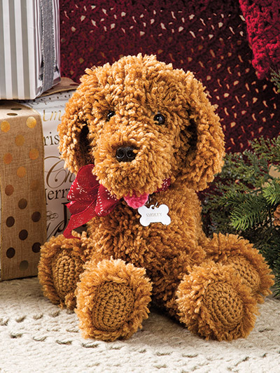 Christmas gifts to crochet a crochet toy dog puppy pattern