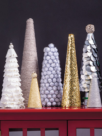 Christmas tree crafts to make for decoration