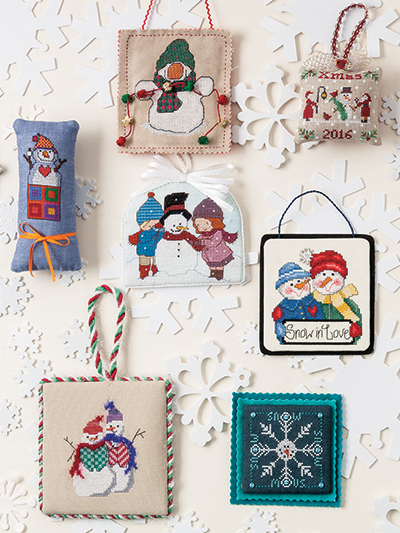 just crossstitch christmas ornaments 2016 loading technique needlework
