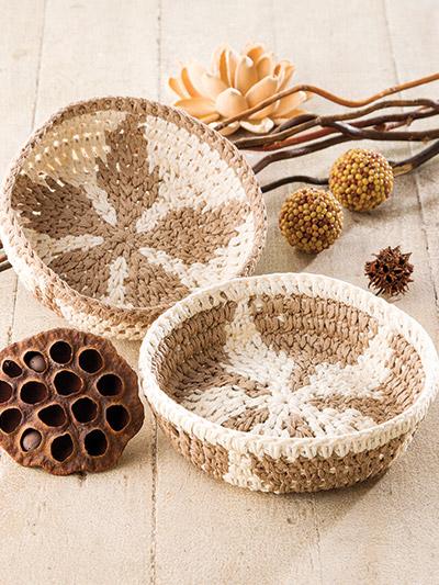 Crochet pattern bowels make great gift ideas for crochet