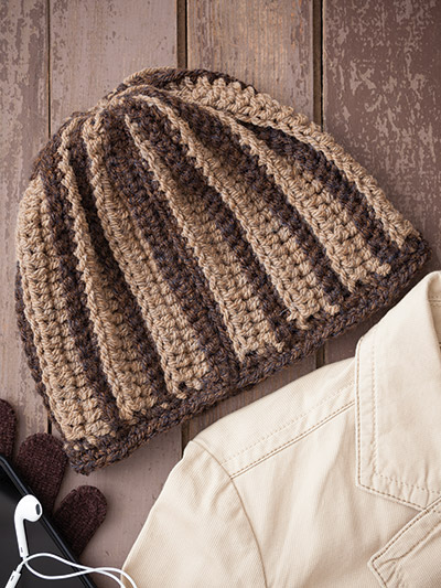 Easy to Crochet Beanie pattern to crochet in a weekend