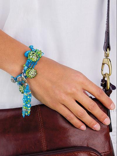 Crochet bracelet pattern jewelry to crochet