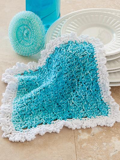 Crochet dishcloth pattern easy weekend crochet patterns