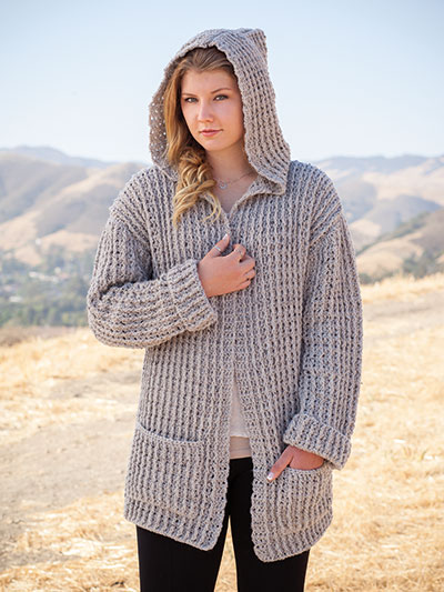 dfdeabed9d82eb ANNIE S SIGNATURE DESIGNS  Hoodie Cardigan Crochet Pattern