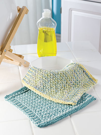 Making dishcloths for gifts knitting patterns