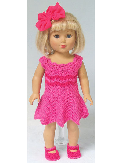 "Ripple Crochet Patterns for 18"" Dolls"