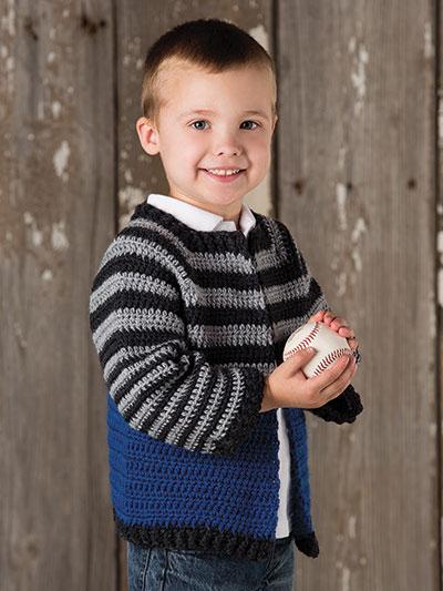Crochet boys sweater for winter, crochet boys cardigan pattern, crochet sweaters for kids, crochet patterns for kids, crochet sweater patterns for boys