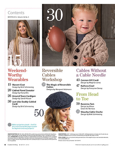 Knitting Patterns for Winter sweaters, socks, blankets and more