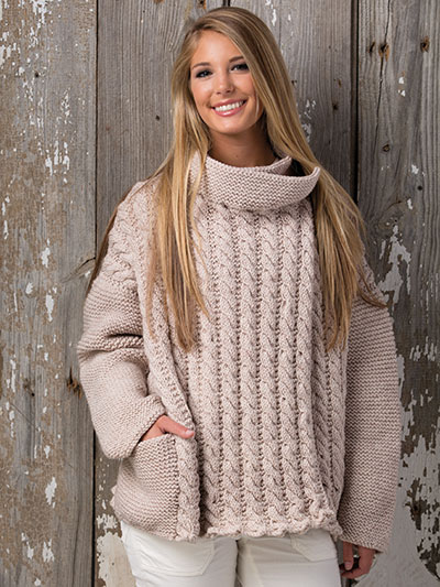 Fun and comfortable cozy sweater knitting patterns - knitting patterns for sweaters