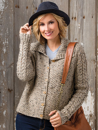 Knit a sweater with buttons knitting patterns for sweaters