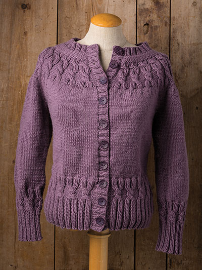 Sweaters to knit for winter, button sweater knitting pattern