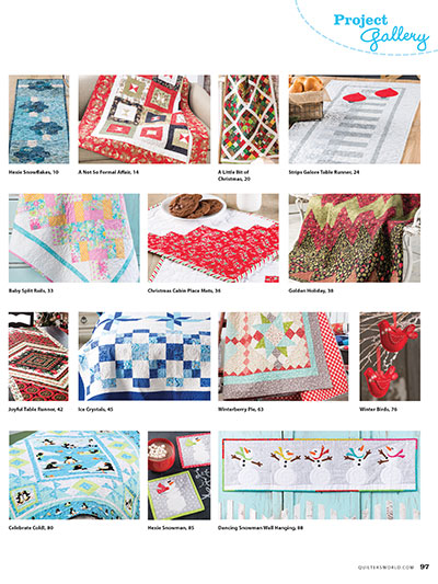 Download Quilter's World Quilting Projects for Cold Weather