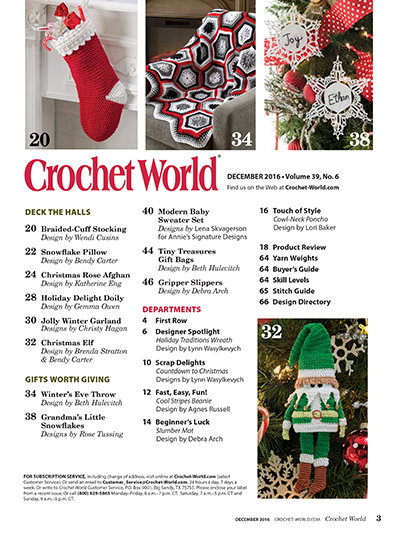 Crochet Patterns and projects for Christmas