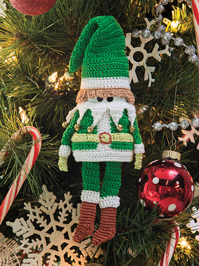 Crochet Christmas elf pattern