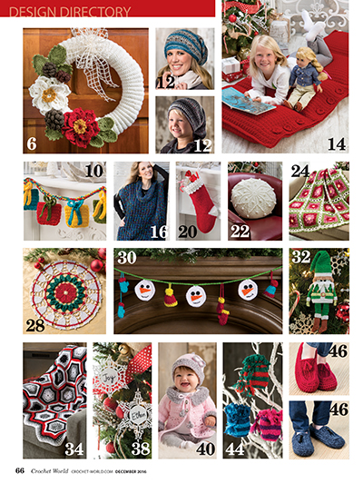 Christmas patterns to crochet for the holidays | Holiday crochet patterns to make for Christmas