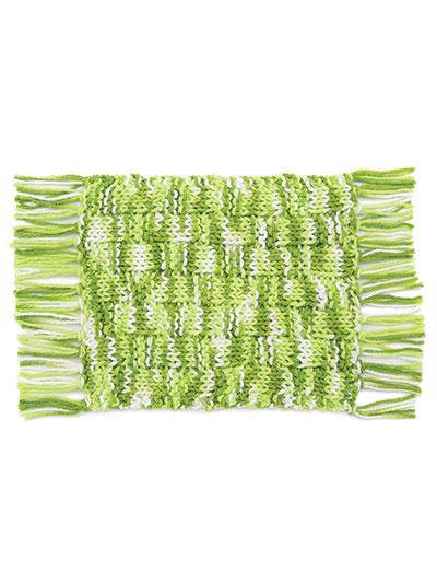 New Knitting Patterns Annies Signature Designs Mug Rugs Knit Pattern