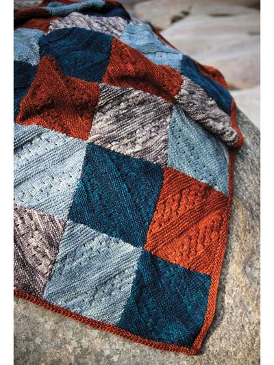 Enver Baby Blanket Knit Pattern