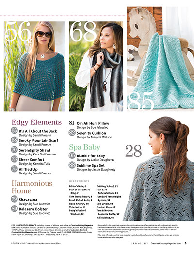 Creative Knitting Patterns for Spring