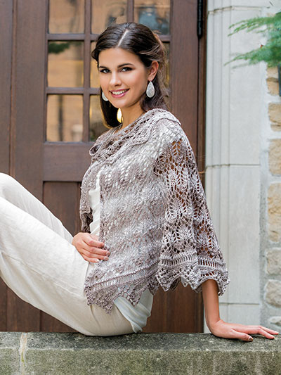 Knitting patterns for spring modern shawls to knit patterns