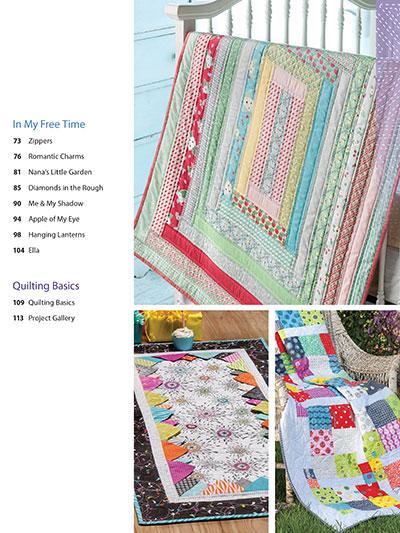 Pre-cut quilt pattern