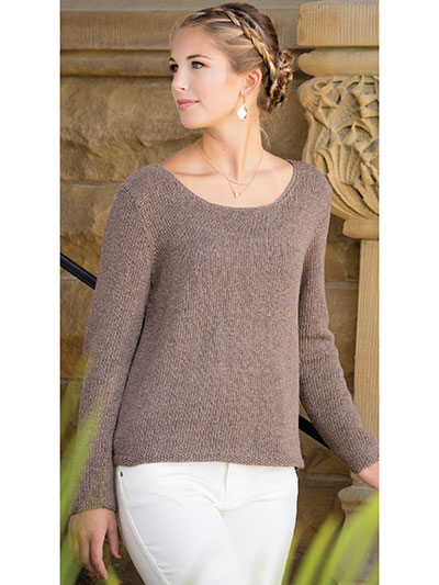 Top And Pullover Knitting Patterns Its All About The Back Knit