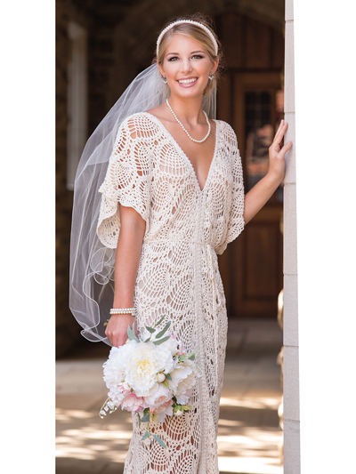 Everlasting Wedding Dress Crochet Pattern