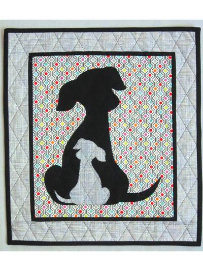 Animal Quilt Patterns Sidekick 66060 Puppy Dog Quilt Pattern Fascinating Dog Quilt Patterns